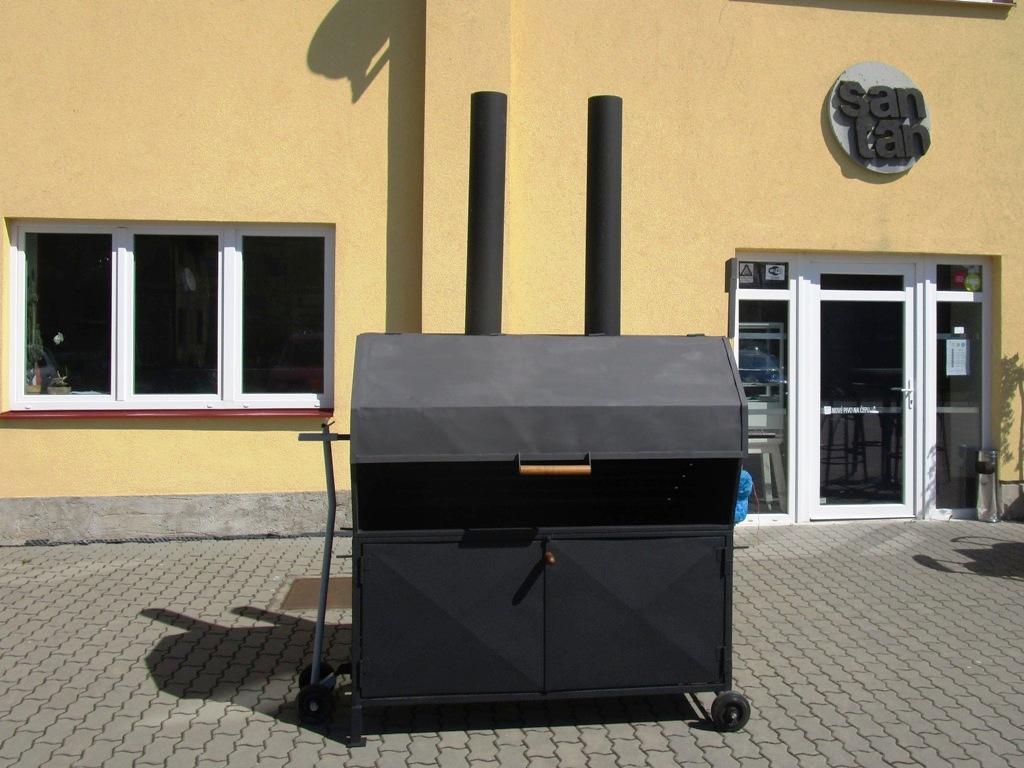 Renovace grilu pro Šantán Choceň