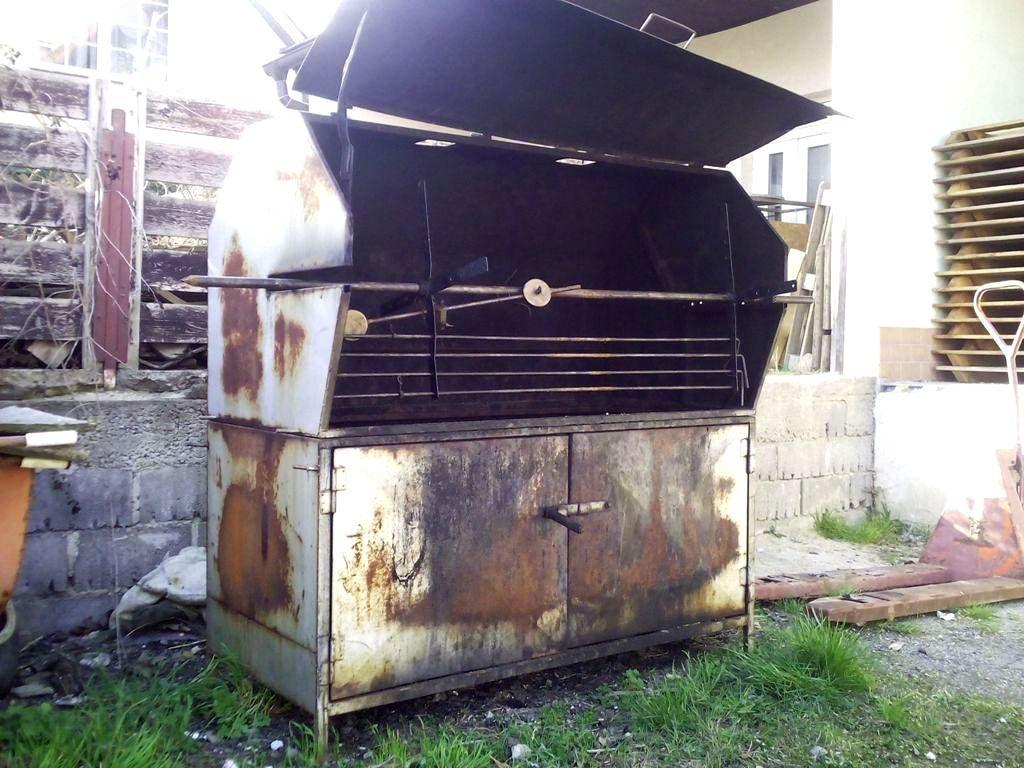 renovace grilu